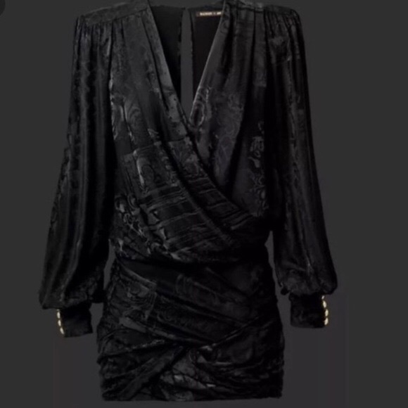 85b2120ff Balmain Dresses   Hm X Draped Dress   Poshmark